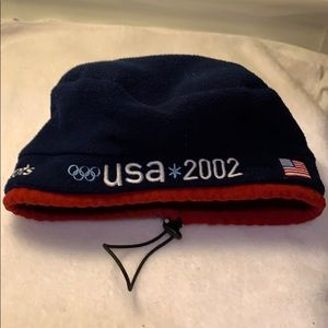 USA 2002 Winter Beanie Pre Owned